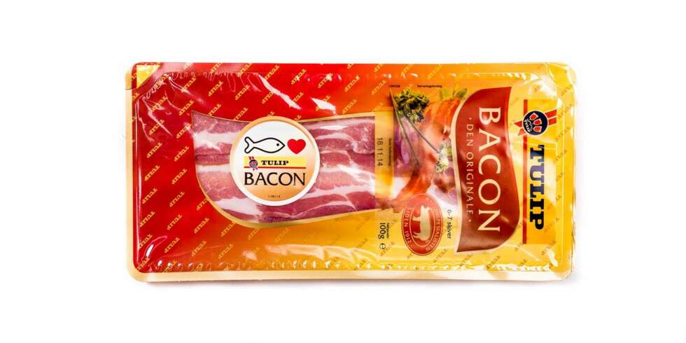 TEST AV BACON: Tulip bacon.