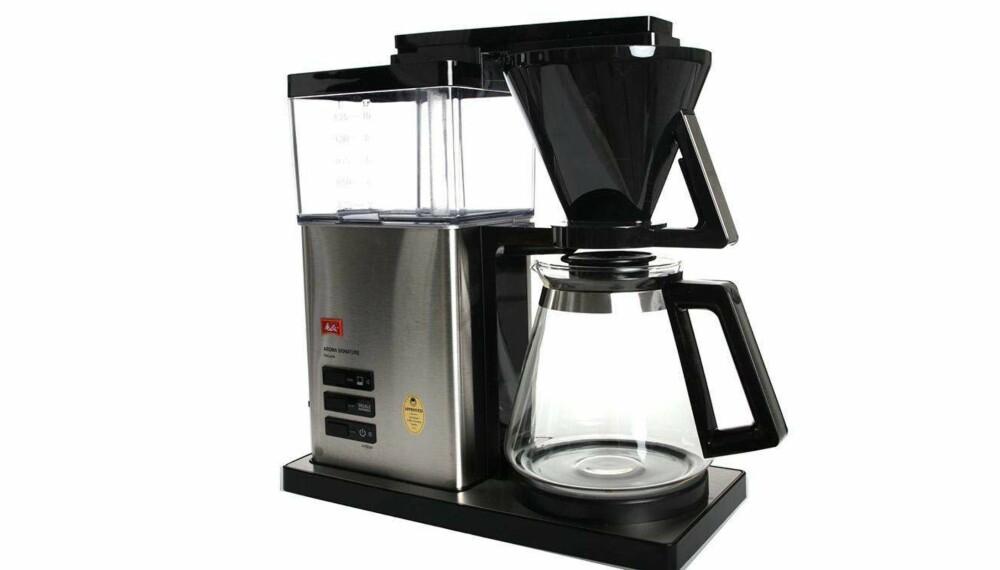 Test av kaffetraktere: Melitta Aroma Signature de Luxe