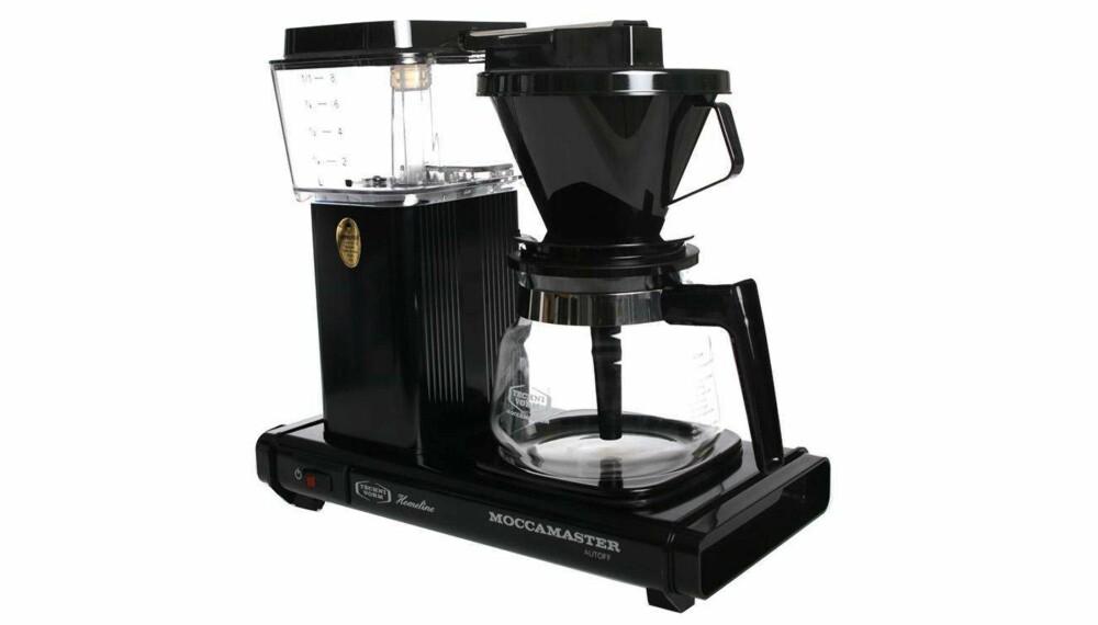 Test av kaffetraktere: Moccamaster H741 AO