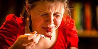 SMAKLØS: - Den smakte egentlig veldig lite, sier Hilde Gustafson om Jamie Olivers pastasaus.