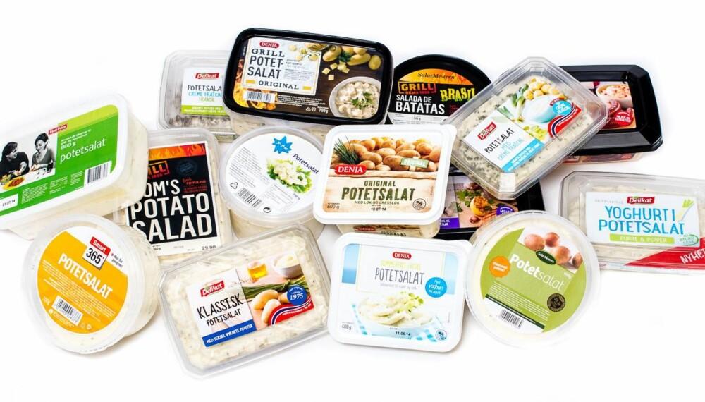 TEST AV POTETSALAT: Vi fikk de tredobbelte norgesmestrene i grilling, Team BarbiQ, til å smaksteste 15 forskjellige typer potetsalat.