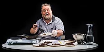 STOR FORSKJELL: - Perfekt hvis du skal lage kjøttkaker, denne kan uten problem få terningkast 6, mener pølsemaker Tore W. Teigen om kjøttdeigen fra Best Pris.