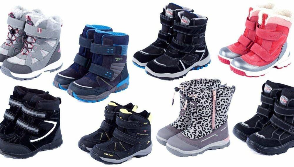 56f38434 TEST AV VINTERSKO 2016: Årets test av vinterstøvler viser at de fleste  holder vannet ute