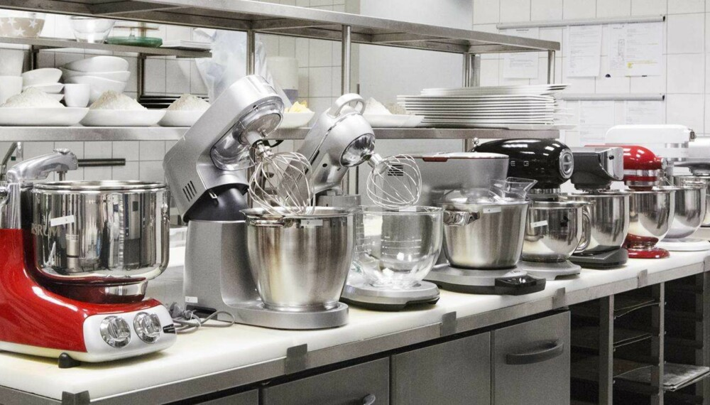 Test: Vi har testet kjøkkenmaskiner.