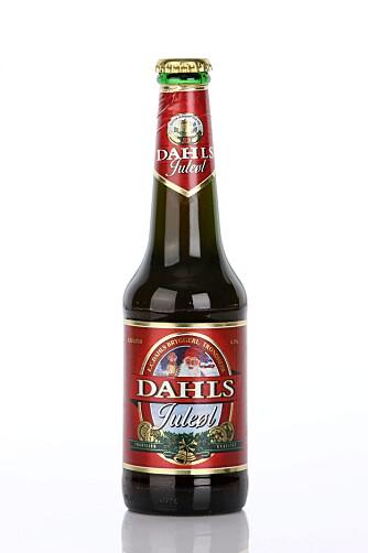 Velger du tradisjonelt juleøl på Vinmonopolet, er Dahls Juleøl det beste kjøpet. Kompleks duft og god fylde.
