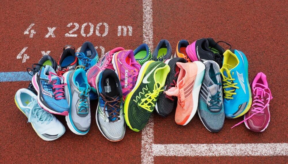 10 sko: Adidas og Saucony kommer best ut i testen av mengdetreningssko. FOTO: Petter Berg