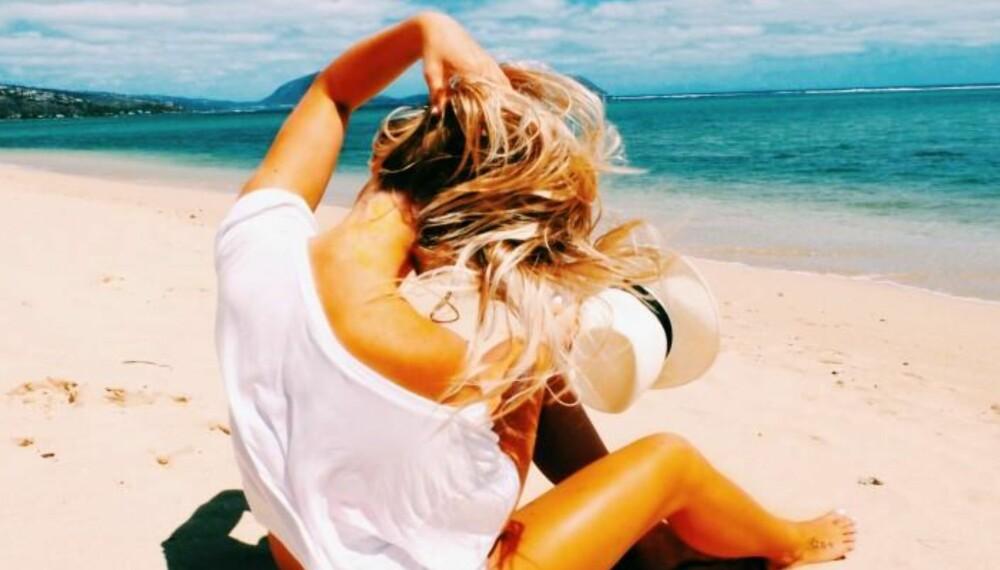 CARPE DIEM: Anniken Fromreide fulgte drømmen og dro til Hawaii for å studere. Der har hun bodd siden 2012 og driver i dag bloggen itswanderlust.femelle.no