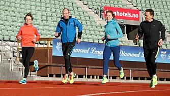 TESTPANELET: Marit Karlsen, Geir Vågen, Maren Haugeto og Morten Solli. FOTO: Petter Berg