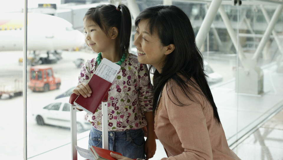 PASS TIL BARN: Skal du utenlands med barn? Her får du en oversikt over alt du trenger å vite om pass til barn og baby. FOTO: Getty Images.