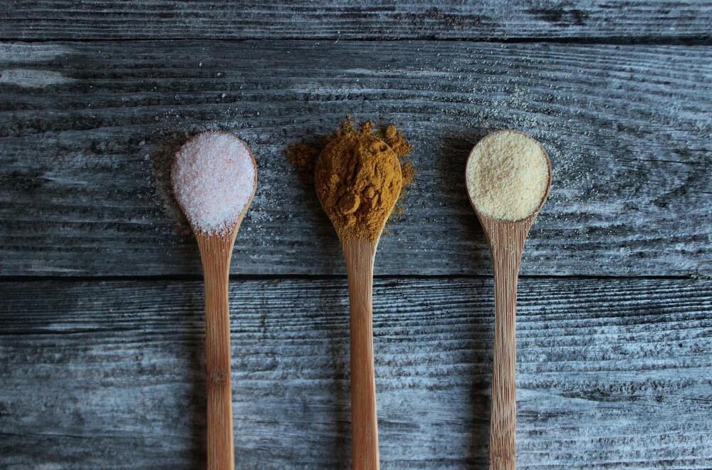 DEILIG SMAK: Du velger selv hvilket krydder du ønsker å bruke, alt etter hva som er din favorittsmak. Her er det bare å teste seg fram!