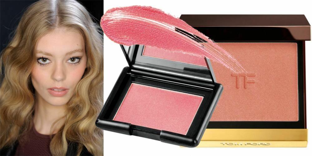 BILLIG OG DYRT: Beauty Perfect Blush i fargen Fresh Pink fra Oriflame, kr 149. TOM FORD Cheek Colour, kr 506.