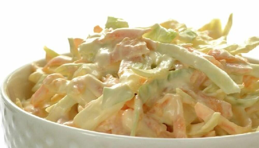 DEILIG: Bent Stiansens geniale oppskrift på klassikeren coleslaw.