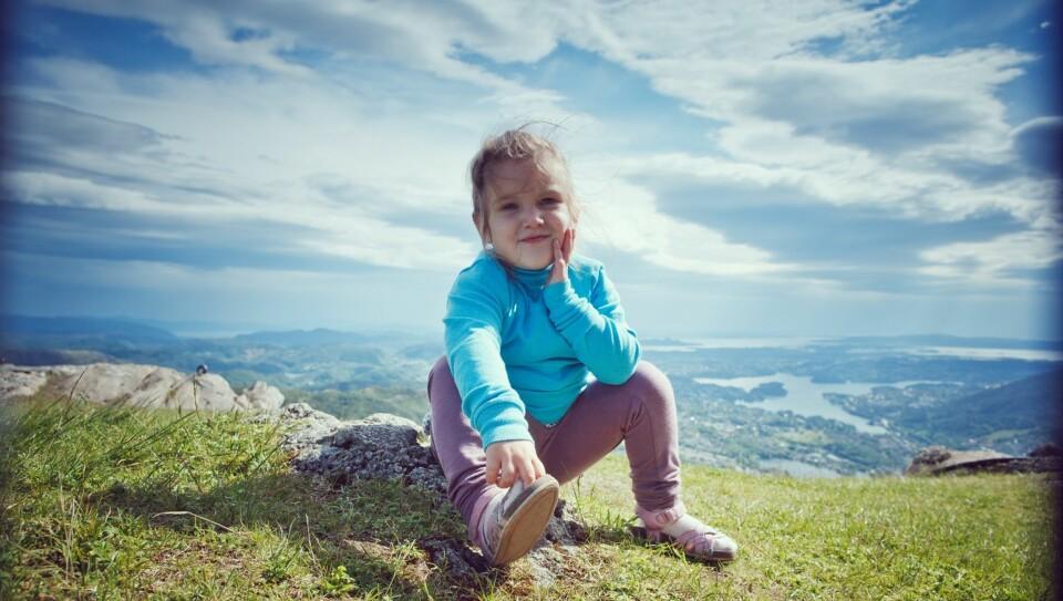 b3d9abb8 FJELLTUR MED BARN: Å ta med barna på fjellferie i Norge er ingen problem med