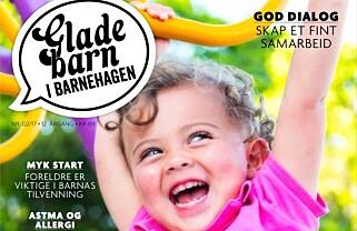 GLADE BARN I BARNEHAGEN, HØSTUTGAVEN 2017