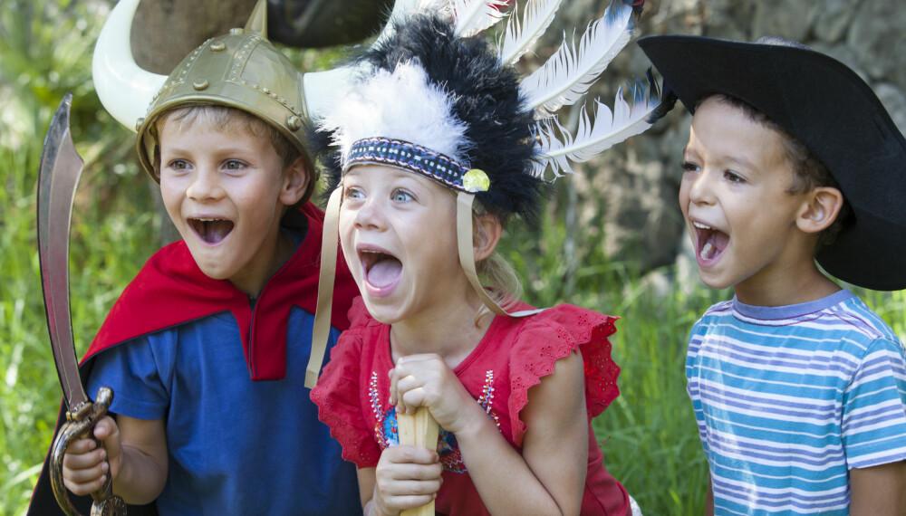 SOSIAL KOMPETANSE HOS BARN: Trening av sosial kompetanse hos barn starter gjennom lek, og relasjonsbyggende og barnestyrt lek er den viktigste. Foto: Gettyimages.com.