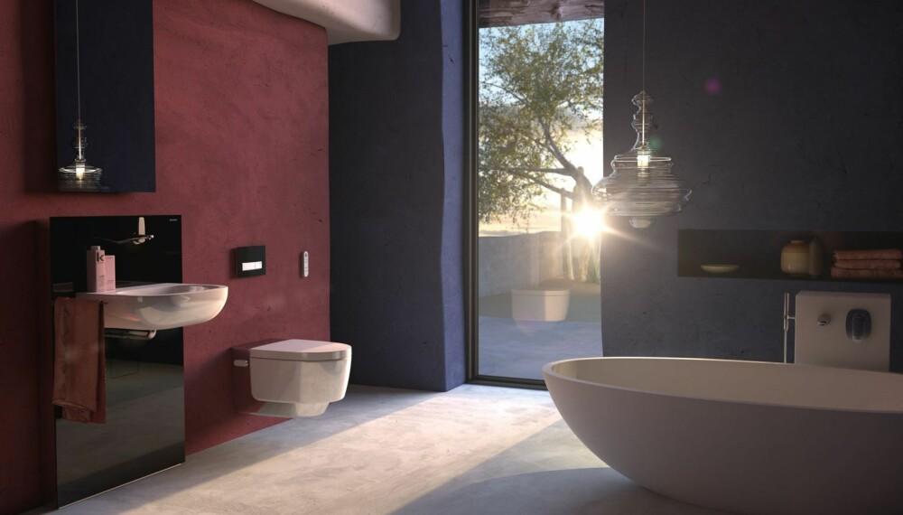 Du kan få spafølelsen hjemme hos deg selv med Geberit AquaClean Mera, som vasker deg skånsomt med lunkent vann etter toalettbesøk. Vegghengt design får toalettet til å se ut som det svever over både gulvet og ut fra veggen, på grunn av det forkrommede dekselet. Vil du prøve hvordan toalettet virker - i en avslappet atmosfære?