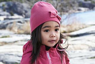 Barn trives best i myke komfortable klær.
