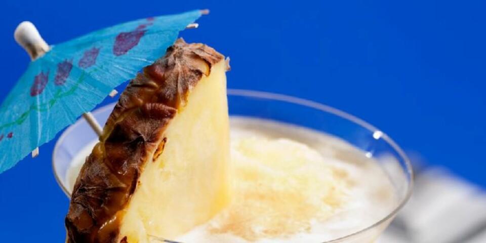 HARMONISK: Kokos og ananas er som laget for hverandre. FOTO: Crestock