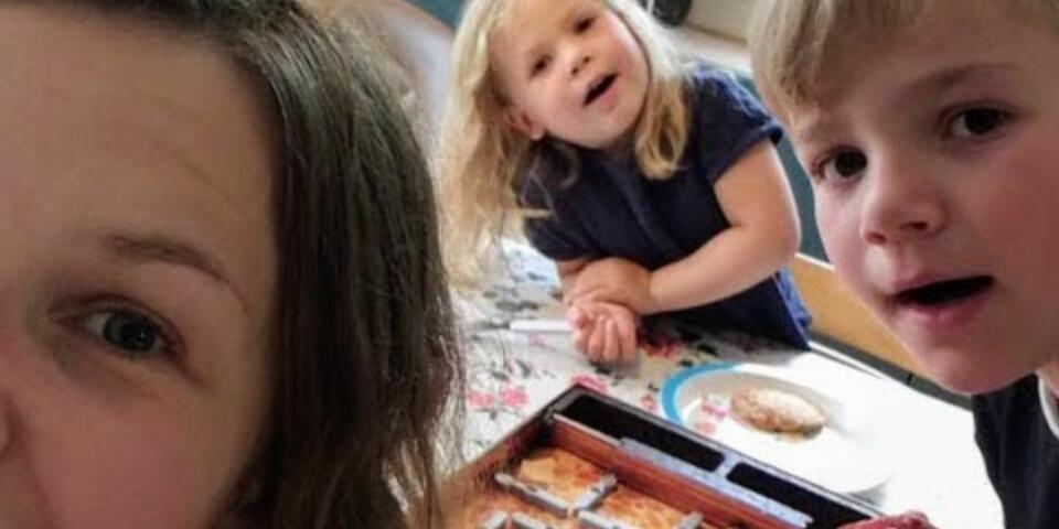 BEKYMRINGER. Vibeke har tusen bekymringer for barna. - Til det kommer til et tidspunkt der jeg tenker tilbake, og håper at de synes jeg har vært en ok mamma. FOTO: Privat