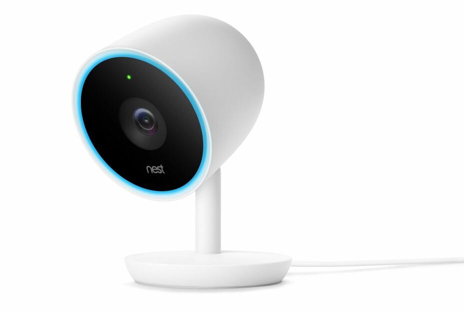 IQ: Nest Cam IQ er det nyeste kameraet fra Nest. Dette har ansiktsgjenkjenning, følgezoom og full HD-oppløsning.
