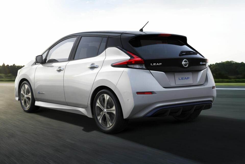 LEAF: En Leaf med større batteripakke og mer ytelse kommer på tampen av 2018.