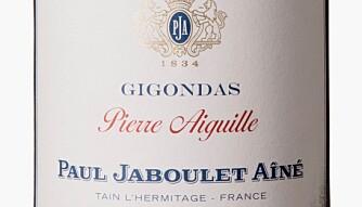 GODT KJØP: Jaboulet Gigondas Pierre Aiguille 2015. Foto: Vinmonopolet
