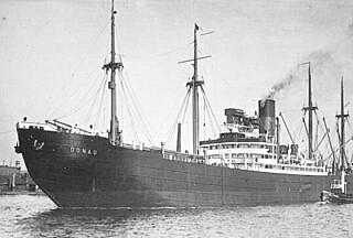 DS Donau lå på bunnen av Drøbaksfjorden. Tyskerne ønsket å heve skipet.
