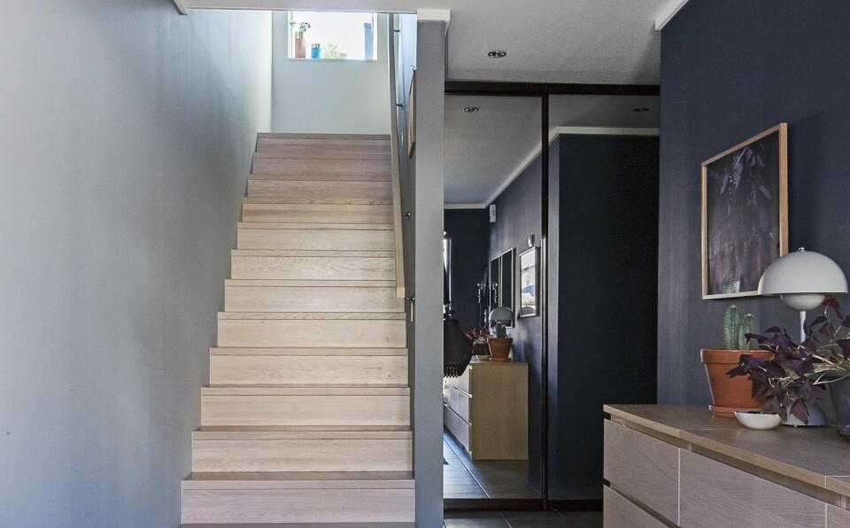 REKKEHUS: Slik gikk det med familien i rekkehuset og interiørarkitekten. FOTO: Jorunn Tharaldsen.