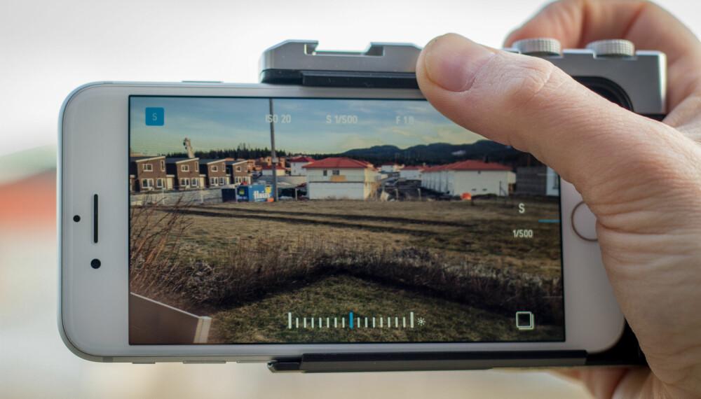 GREP: Endelig en kameratelefon som er god å holde i! Men Pictar fungerer bare sammen med Pictar-appen, så sjekk ut  den før du handler.