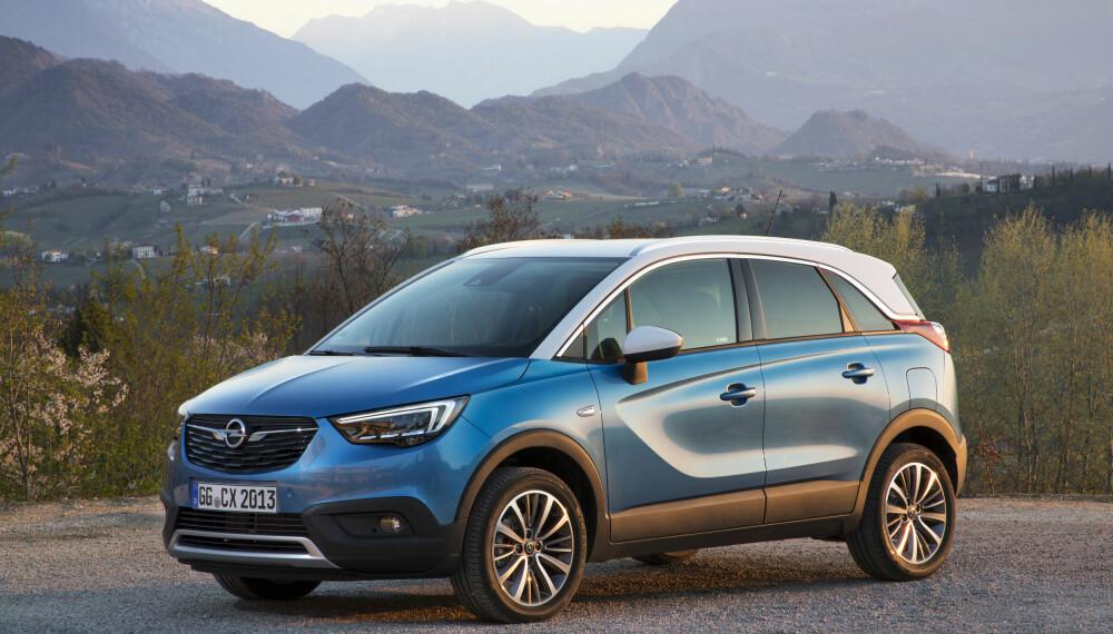 MINDRE X: Opel Crossland X.