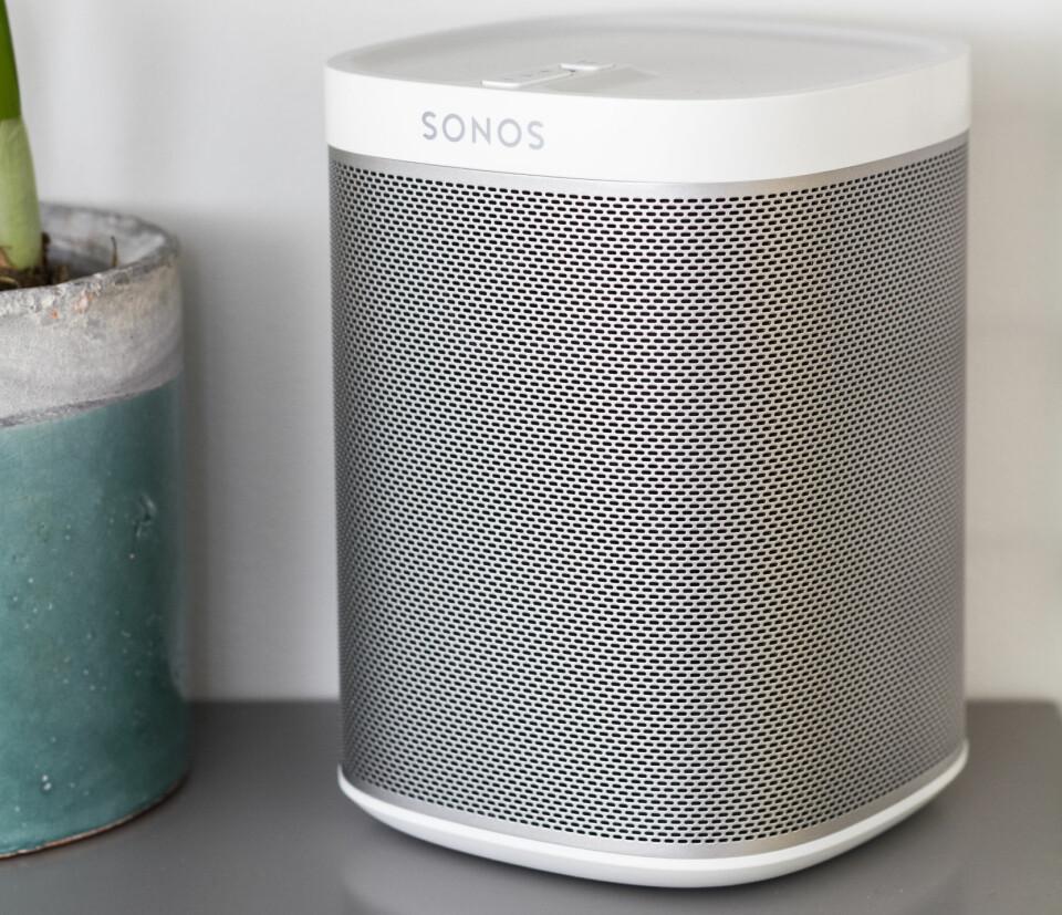 MARKEDSLEDER: Sonos er markedslederen i multiromsmarkedet, men fraværet av direkteknapper gjør den lite egnet som nettradio med mindre du kun hører på samme kanal hele tiden.