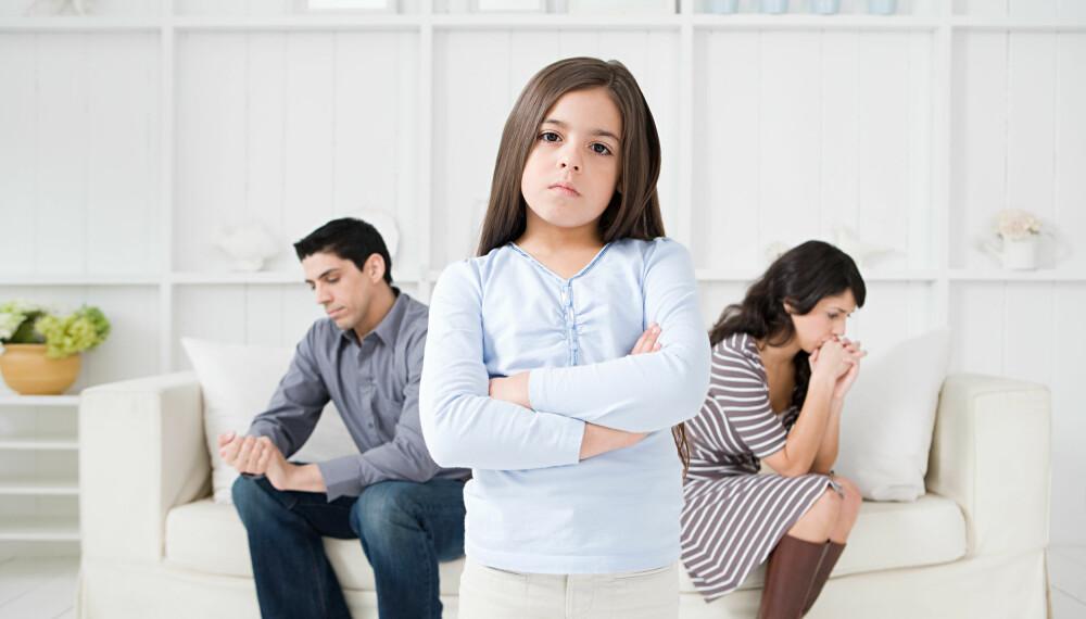 BARNEBIDRAG: På tross av at familier brytes opp, må man selvfølgelig fortsatt dele på kostnadene med å forsørge et barn ved at den ene betaler barnebidrag. Foto: Getty Images