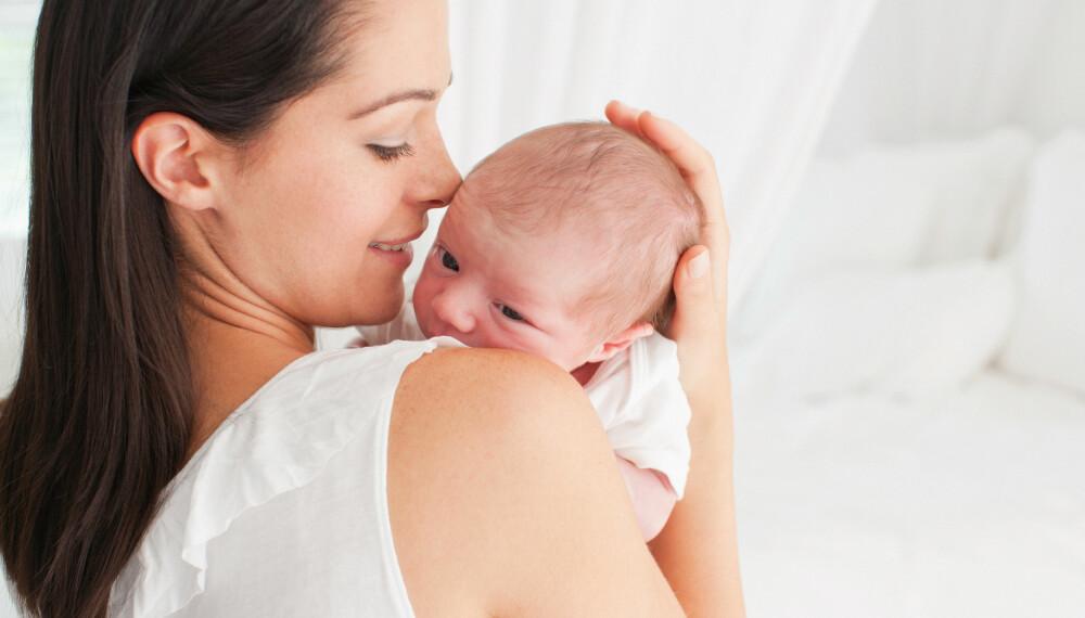 MAMMAPERMISJON: Mødrekvoten starter ved barnefødsel og er på ti uker. Foto: Getty Images