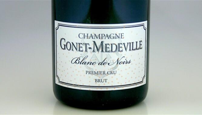 TIL FÅRIKÅL: Gonet-Medeville Premier Cru Blanc de Noirs Brut. Foto: Arnie Stalheim