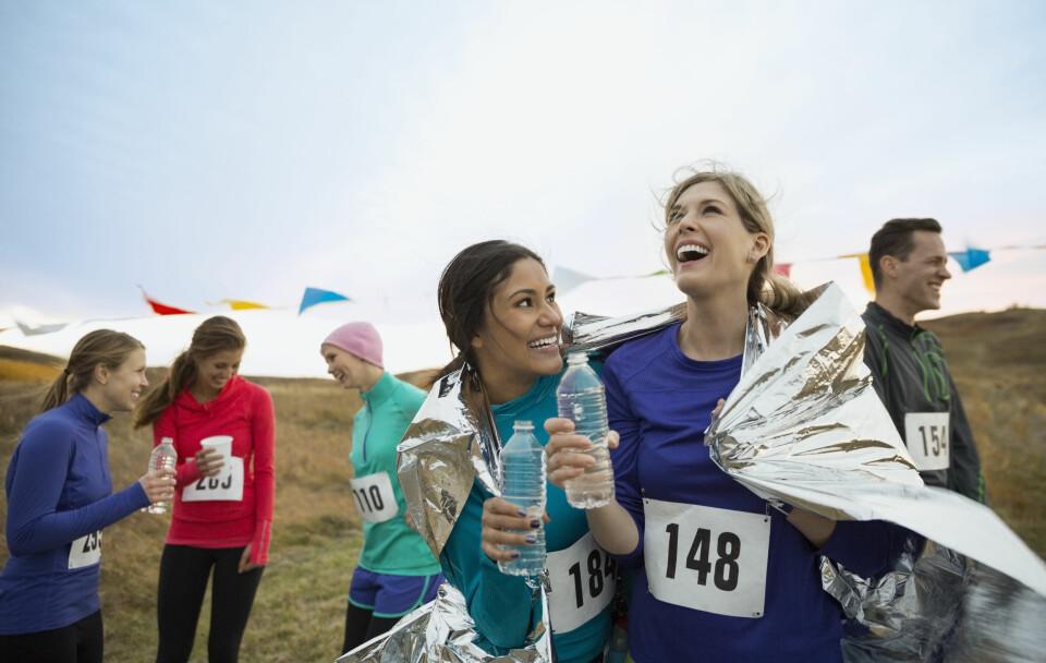 LØPE HALVMARATON: Lengden på halvmaraton er 21 km, og mange ønsker å løpe på rundt to timer.
