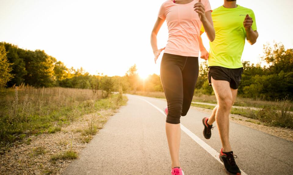 RIKTIG LØPETEKNIKK: For å få mer ut av joggeturen er det viktig med god løpeteknikk. Her kan du lese om de vanligste løpefeilene, og øvelser for god løpeteknikk. FOTO: Getty Images.
