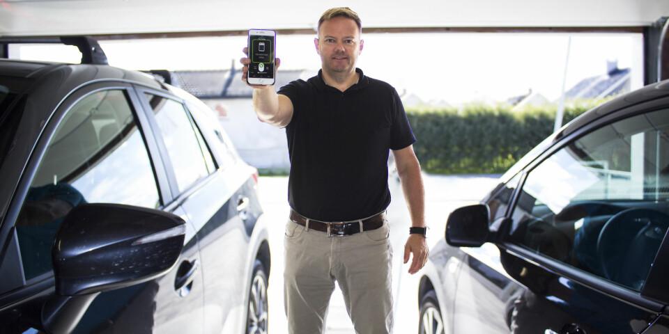 I GARASJEN: Ønsker du å kunne fjernstyre garasjeporten din, er løsningen fra Gogogate2 et godt alternativ.