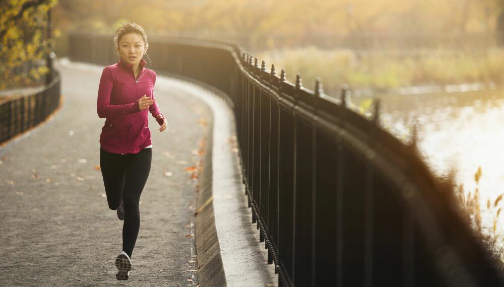 LØPE 5 OG 10 KM: Ønsker du å løpe 10 km på 45 minutter? Eller 5 km på 30 min? Vi får deg i mål med dette løpeprogrammet! FOTO: Getty Images.