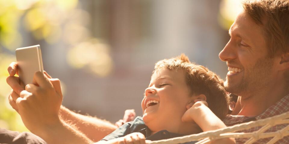 BARNETRYGD: Stønad som gis til alle barn under 18 år. Satsen er 970 kroner og har vært uforandret siden 1995. Foto: Getty Images.