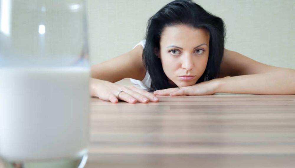 LAKTOSEINTOLERANSE: For mye melk og meieriprodukter kan føre til magesmerter hos dem som har laktoseintoleranse. Foto: Colourbox