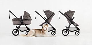 Vognen veier 13 kg, er 63 cm bred og kan brukes fra nyfødt til 4 års-alder. Ved å trekke i de to spakene, kan man veksle mellom fram- og bakovervendt stilling eller helt nedsenket nivå for barnet.