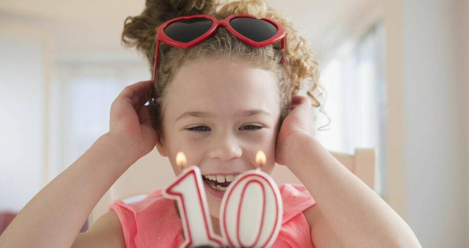 BURSDAGSLEKER: Her får du tips til bursdagsleker for barnet som fyller 10, 11, 12 eller 13 år. FOTO: Getty Images.