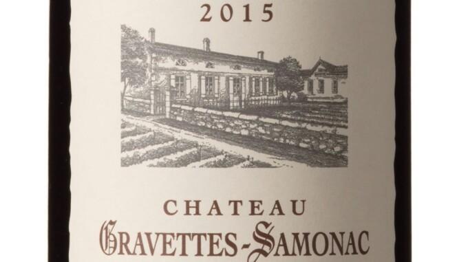 GODT KJØP: Ch. Gravettes-Samonac 2015. Foto: Vinmonopolet
