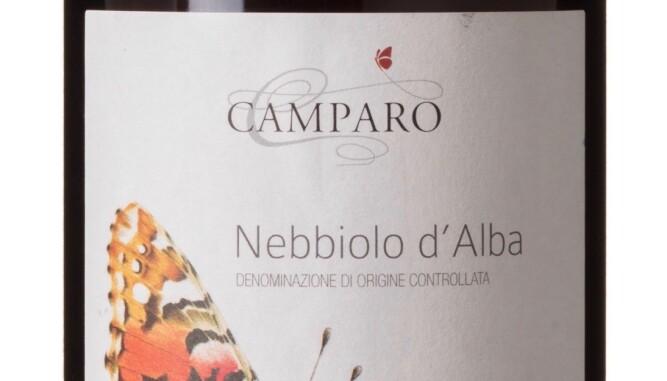GODT KJØP: Camparo Nebbiolo d'Alba 2015. Foto: Vinmonopolet