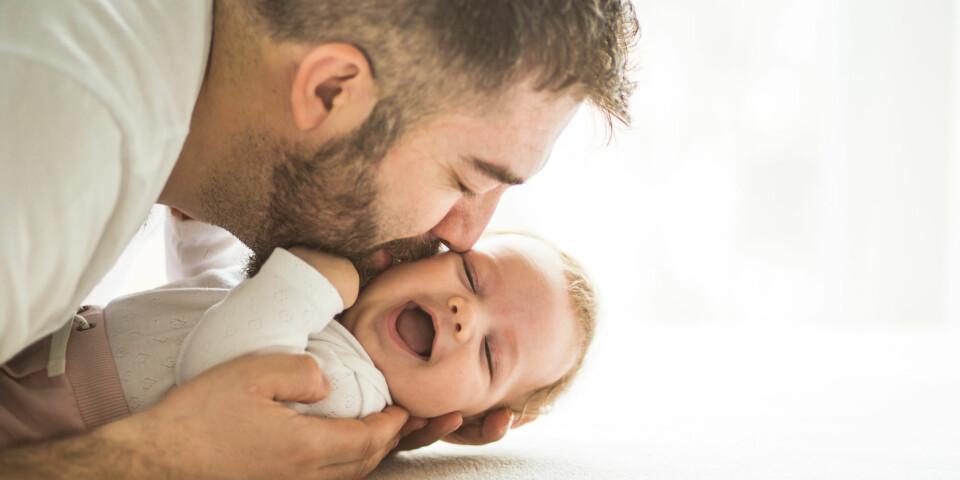 BABYENS UTVIKLING: Med store utviklingssprang hver eneste uke, kan det være fint å følge med på babyens utvikling. Foto: Gettyimages.com.
