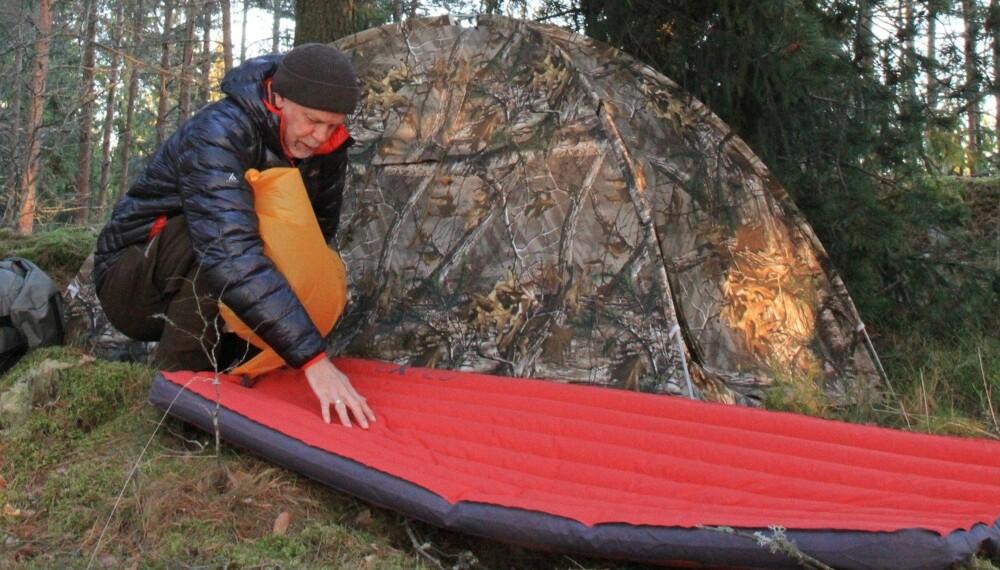 Topnotch Stort test av liggeunderlag 2017 - Trening RH-16