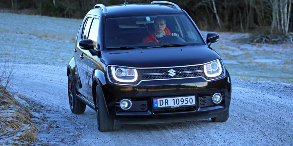 XXS: Suzuki Ignis er 370 cm kort. (FOTO: Terje Bjørnsen)