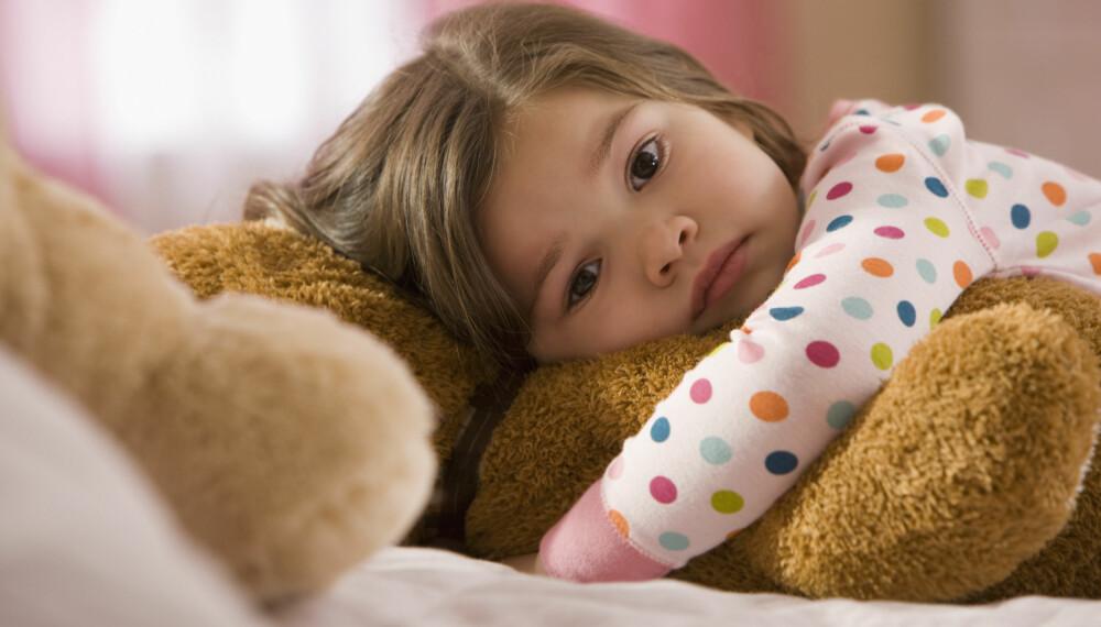 ANGST HOS BARN: 15-20 prosent av barn og unge mellom 3 og 18 år har en psykisk lidelse, som kan være angst. FOTO: Getty Images.