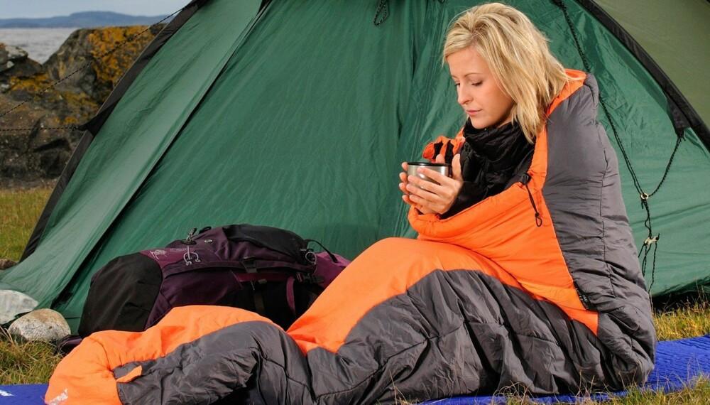 SOVEPOSER: Vi har testet 16 soveposer i dun- og fiber-kategoriene. FOTO: Arne T. Hamarsland