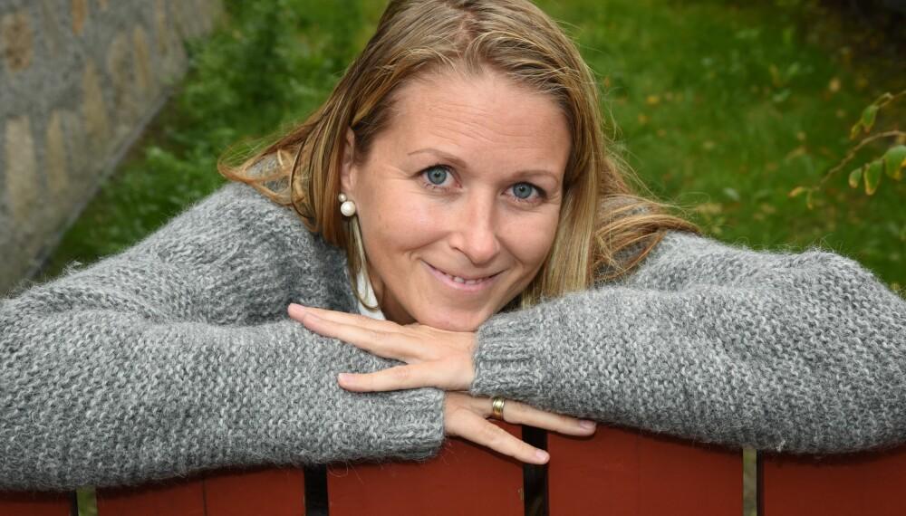 FIBROMYALGI: Eva Christin lever med fibromyalgi, sykdommen som kjennetegnes av kroniske muskelsmerter, og en tilstand som blir mer plagsom med tiden. FOTO: Siri Walen Simensen.